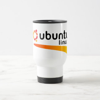 Ubuntu Linux Open Source Travel Mug