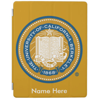 UC Berkeley School Seal iPad Cover