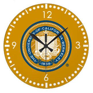 UC Berkeley School Seal Large Clock