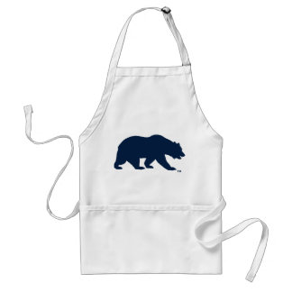 UC Berkley Bear logo Blue Standard Apron