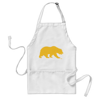 UC Berkley Bear logo Golden Standard Apron