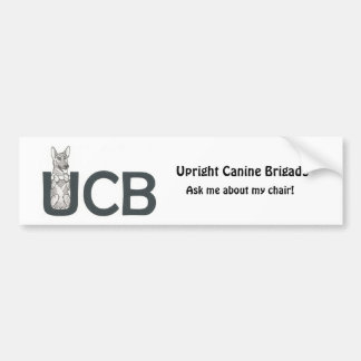 UCB Breeds- German Shepherd- Bumper Sticker