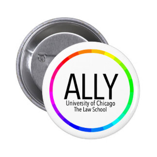 UChicago OutLaw Ally - Button