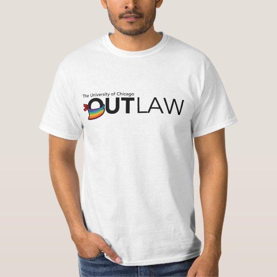 UChicago OutLaw - Black, Full Colour T-Shirt