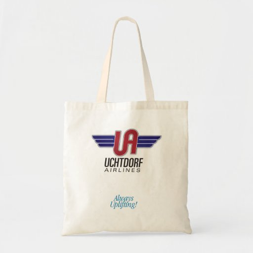 Uchtdorf Airlines. Sunday manual / diaper bag. Bags