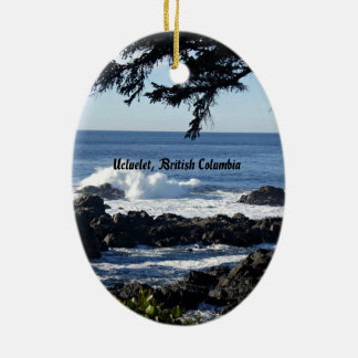 Ucluelet, British Columbia Christmas Ornament
