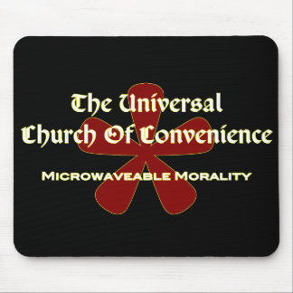 UCOC Microwave - Dark Mouse Mat