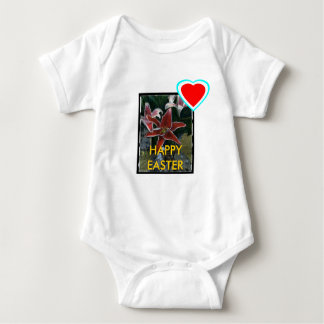 !UCreate Happy Easter Tiger Lily Baby Bodysuit