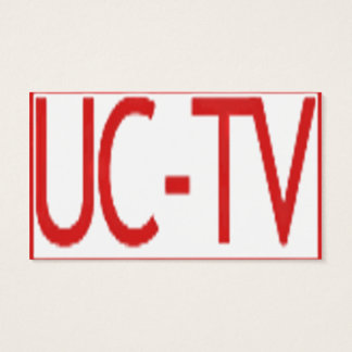 UCTV Educational and Career Consulting Business Business Card