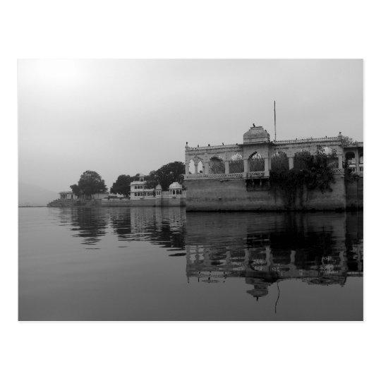 Udaipur India Lake Pichola Postcard