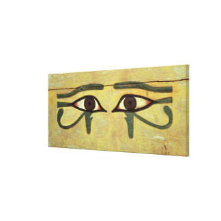 Udjat Eyes on a Coffin, Middle Kingdom Canvas Print