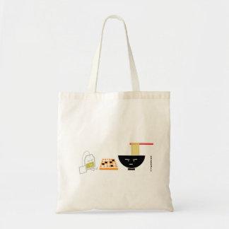 Udon Green Tea Bag Playing Go Tote Bag TBA