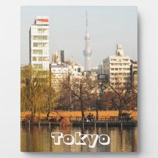 Ueno Park in Tokyo, Japan Plaque
