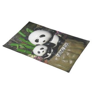 Ueno Zoo Panda Sign Placemat