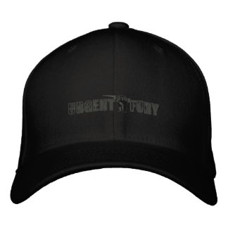 UF Embroidered Hat Grey on Black