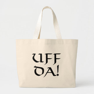 Uff Da! Large Tote Bag