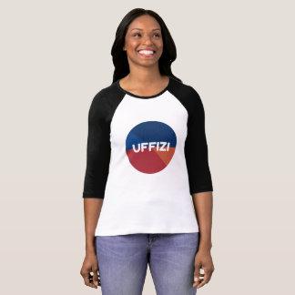 Uffizi Logo Sleeve T-Shirt