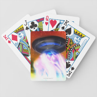 UFO 4 BICYCLE PLAYING CARDS
