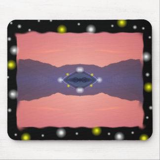UFO 7 Design Mouse Pad