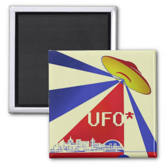 UFO above Milton Keynes magnet