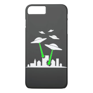 UFO Alien Attack iPhone 8 Plus/7 Plus Case
