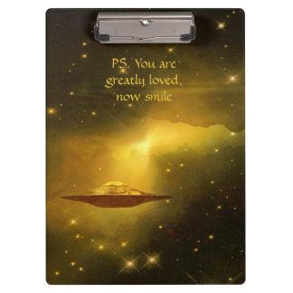 UFO alien galaxies space Clipboards