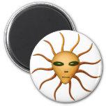 UFO Alien Head gifts by Valxart.com Refrigerator Magnet