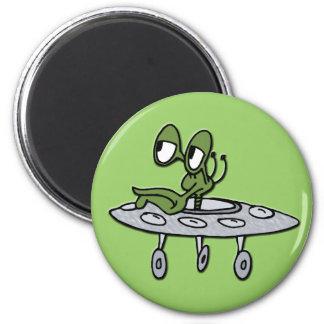 UFO & Alien Refrigerator Magnet