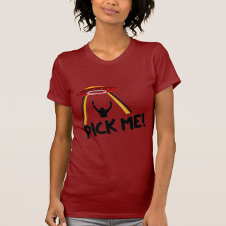 UFO Alien Ship - Pick Me! T-Shirt