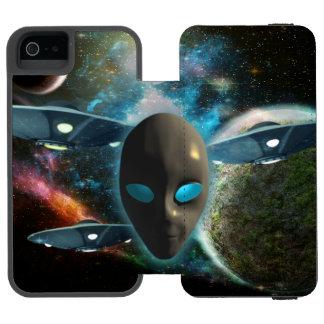 UFO And Alien Incipio Watson™ iPhone 5 Wallet Case