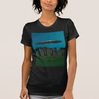 UFO At Stone Henge T-Shirt