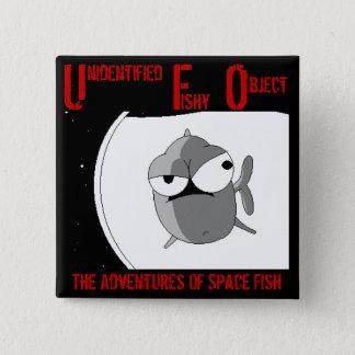 UFO (badge) 15 Cm Square Badge