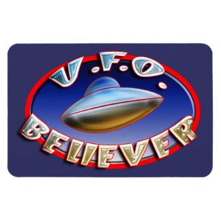 UFO Believer Premium Flexi Magnet