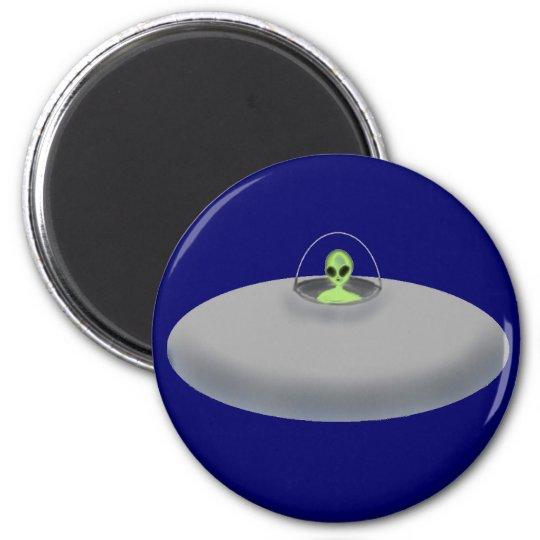 UFO (blue) magnet