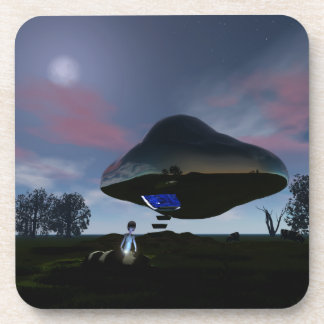UFO Cattle Mutilation Coasters
