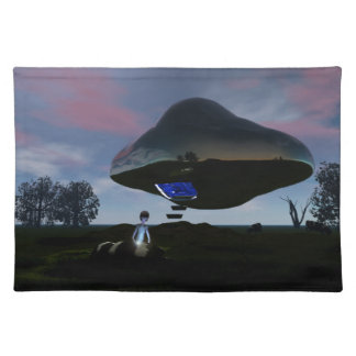 UFO Cattle Mutilation Placemat