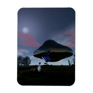 UFO Cattle Mutilation Vinyl Magnet
