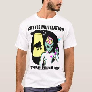 UFO Cattle Mutilation T-Shirt