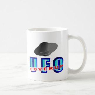 UFO Coverup Basic White Mug