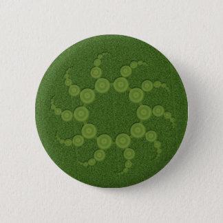 UFO Crop Circles 6 Cm Round Badge