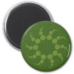 UFO Crop Circles Refrigerator Magnets