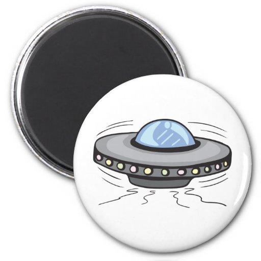 UFO!  Customizable! Fridge Magnet