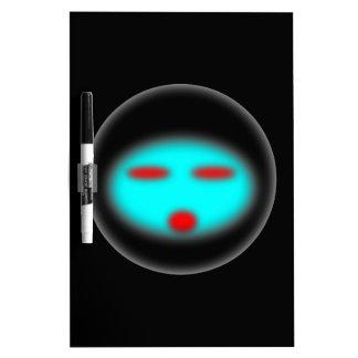UFO DRY ERASE WHITE BOARD