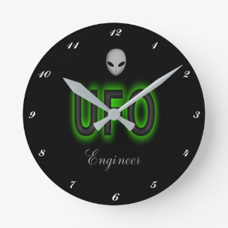 UFO Engineer Clock