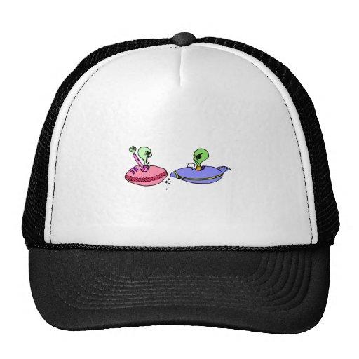 UFO fender bender Trucker Hats