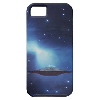 UFO flying object in space iPhone 5 Cases
