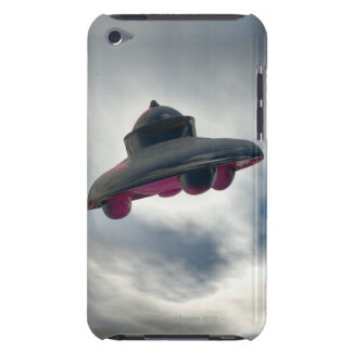 UFO Flying Through Clouds Case-Mate iPod Touch Case