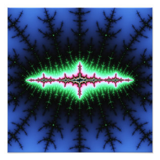 UFO Fractal Abstract Design Photo