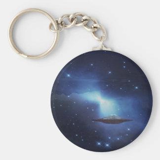 UFO galaxies Key Chains