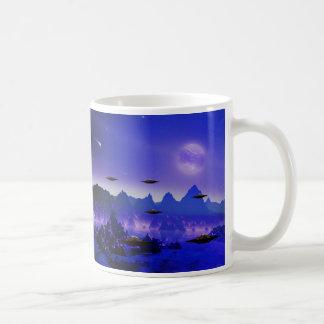 UFO galaxy Basic White Mug